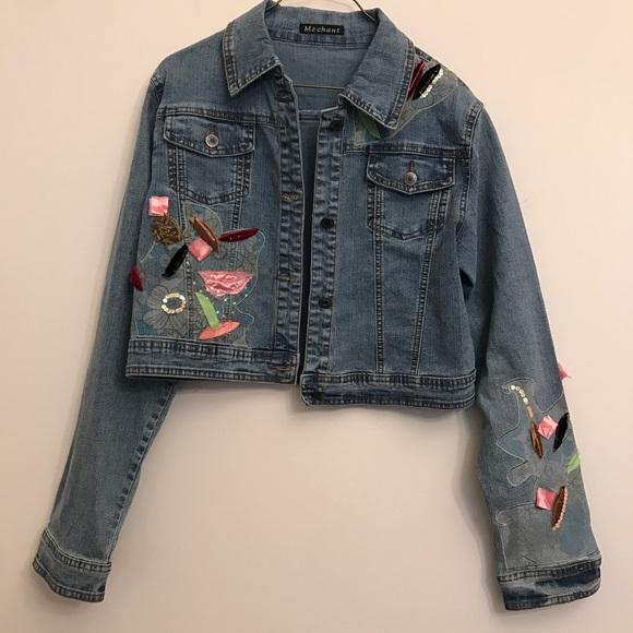 Mechant Jackets & Blazers - Mechant Jean Jacket Size L